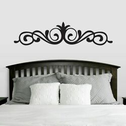 Elegant Accent Scroll Wall Decal Wall Accents Decor Bedroom Sticker Vinyl $15.60
