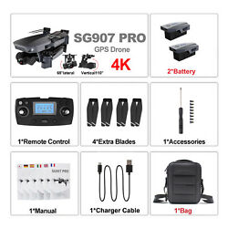 SG907 Pro Drone GPS 5G WIFI 4k HD Mechanical 2 Axis Gimbal Camera RC Quadcopter $207.00