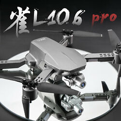 L106 Pro GPS Drone 4K RC Quadcopter With Camera Optical Flow FPV Drone 4K $143.32