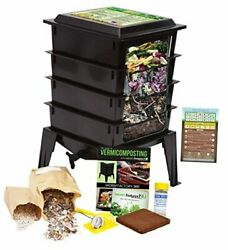 Worm Factory 360 Worm Composting Bin Bonus What Can Red Wigglers Eat? Infograp $212.89