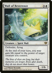 MTG Magic the Gathering 1x NM Wall of Reverence Conflux x1 $1.50