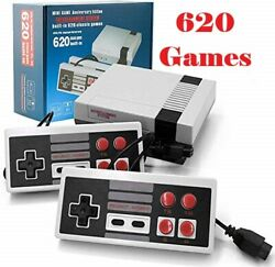 620 Games Built in Mini Retro Console classic Home TV Game 2 Controller Gift $22.99