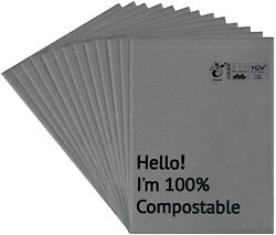 12x15.5 Inches Biodegradable Shipping Bags 55 Pieces Compostable Poly Mailers $18.99