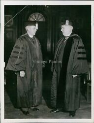 Vintage Older Men College Robes In Fancy Room Paintings Ny Historic Photo 6X8 $19.99