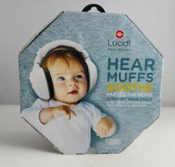 Lucid Audio HearMuffs Soothe Baby Hearing Protection Over Ear Electronic Muffs $21.00