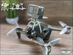 DJI FPV Drone Combo GoPro Action Mount Hardware Included 8 Colors USA Seller $14.90