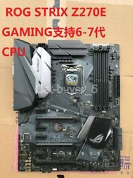 ASUS Z270E GAMING Motherboard Intel Z270 LGA1151 DDR4 HDMI DVI With a I O $185.00