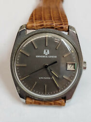 UNIVERSAL GENEVE UNISONIC Vintage with Date $399.00