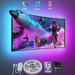 Govee TV LED Backlights 9.8FT LED Lights for TV with App and Remote Control...