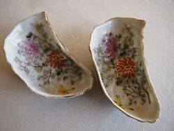 Antique Pair Oyster Shooters Single Oyster $225.00