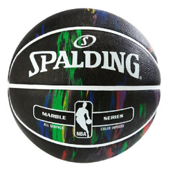 Spalding Marble Black Basketball RBR Size 29.5quot; $31.81
