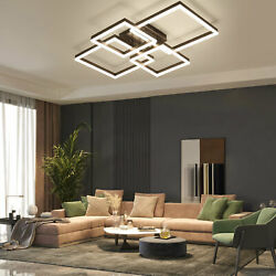 Dimmable LED Ceiling Lights Chandelier Lighting Fixture Hanging Lamps Geometric $122.56