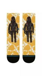 NWT Stance Kids Socks Star Wars Chewie Sz L 2 5.5 $9.99
