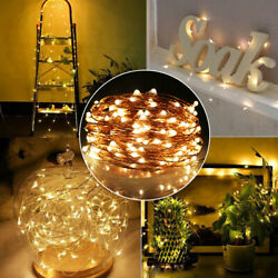 5M 50 USB Plug In String Light DIY Micro Copper Wire Night Party Party Lights $5.77