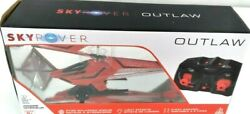 Sky Rover Outlaw Helicopter Red Gyro Balanced Engine 6 Way Function Control $16.99