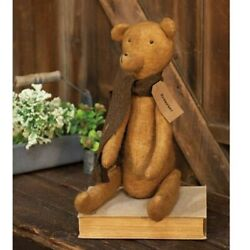 New Primitive Grungy Rustic Country Vintage ANTIQUE STYLE TEDDY BEAR Doll 19quot; $27.95