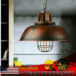 Industrial Barn Farmhouse Pendant Light Kitchen Hanging Ceiling Lamp Shade $36.15