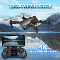 GD89 PRO RC Drone Camera 4K Gravity Sensor 3D Flip Quadcopter For Adults US U3Q0 $35.69