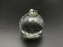 1 1 2quot; Faceted Crystal Glass Replacement Chandelier Drop Ball Sun catcher Prism $17.99