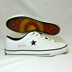 Converse One Star Target Limited Edition White Patent Leather 3000 Mens Sz 10.5 $199.99