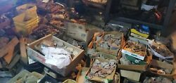10LB Old stock Rock Mineral Fossil Crystal lapidary rough Estate grab bag lot $44.50