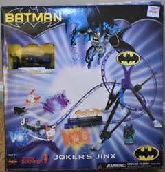 Six Flags Batman Toy Action Figure The Joker#x27;s Jinx Roller Coaster 2004 DC Comic $34.99