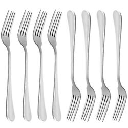 Dinner Forks MCIRCO 18 10 Heavy duty Stainless Steel Dinner Forks Set of 8 ... $11.98