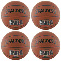 CASE of 4 Spalding NBA Varsity Outdoor Basketball Official Size 7 29.5quot; $69.95