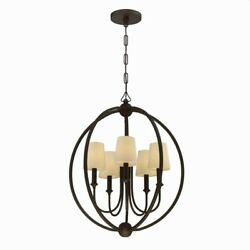 Crystorama Lighting Five Light Chandelier Sylvan Five Light Chandelier $403.38