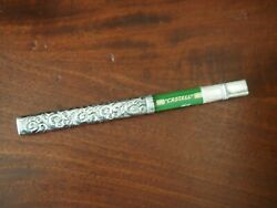 Antique Sterling Silver Small Pencil Holder with Pencil. $52.00