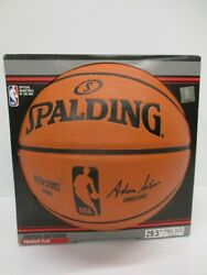 Spalding NBA Game Ball Replica Silver Series Basketball 29.5quot; Full Size $29.99