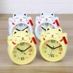 Kids Alarm Clock Cute and Practical Silent for Gift Travel Bedroom Decoration $17.85