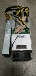 Antminer S9 10.5 TH APW3 PSU 100A Bitcoin BITMAIN Miner Tested Tune Mod $600.00