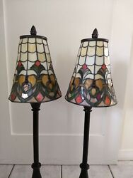 Dale Tiffany Stain Glass Lamps $75.00