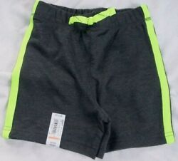 NWT Toddler Boys 12 18 24 Months Gray Knit Shorts Jumping Beans $2.99