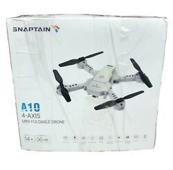 SNAPTAIN A10 Mini Foldable Drone with 720P HD Camera FPV WiFi RC Quadcopter $28.71