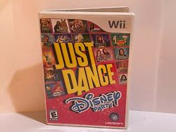 Just Dance Disney Party for Nintendo Wii Complete Tested CIB Fast Free Shipping $23.49