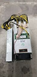 Antminer S9 13 TH APW3 PSU 100A Bitcoin BITMAIN Miner Tested Tune Mod $625.00