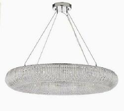 Crystal Ring Chandelier Modern Contemporary Lighting Floating Orb Chandelier 6 $2270.99