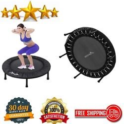 Fitness Trampoline 40 Inch Foldable Mini Adults Kids Exercise Rebounder Workout $79.50