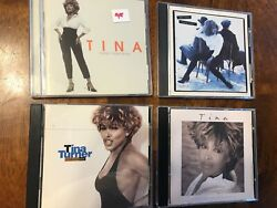 Tina Turner CD#x27;s 4 albums used and in excellent condition $9.90