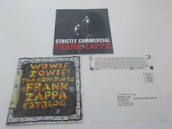 1995 Frank Zappa quot;Strictly Commercialquot; Canada RYKO CD Complete