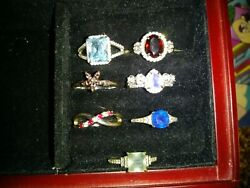 Ring bomb party size 8 lot of 7 $50.00