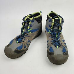 Merrell Capra Mid Waterproof Boys Youth Waterproof Hiking Boots Youth Size 6.5M $49.95