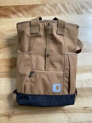 Carhartt Legacy Women#x27;s Hybrid Convertible Backpack Tote Bag Carhartt Brown $58.00