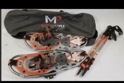 MP Yukon Charlie's YC 821 Snowshoes With Trekking Poles Bag 0361 $75.00