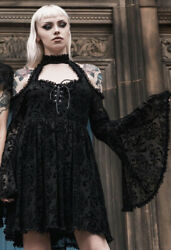 Killstar Beyond Dawn Maiden Dress Goth Nugoth Gothic Dress Size Small NWT