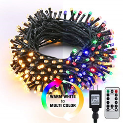 Brizled Christmas Lights 65.67ft 200 LED Color Changing Tree Lights 11 Function