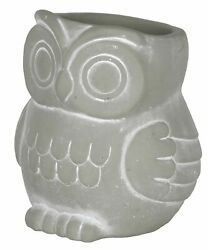 Classic Home and Garden 260005P 396 Owl Planter Large Natural $21.59