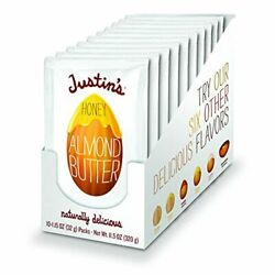 Justin#x27;s Honey Almond Butter Squeeze Packs Gluten free Non GMO Sustainably So $16.38